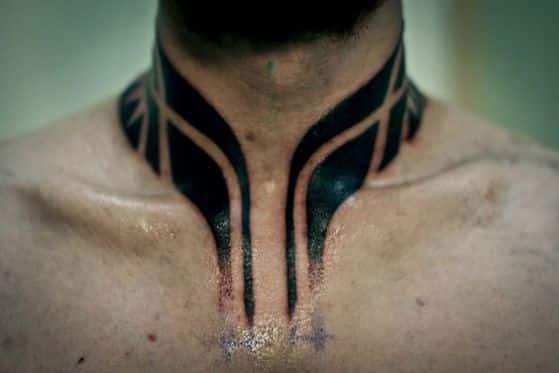 cuello tribal