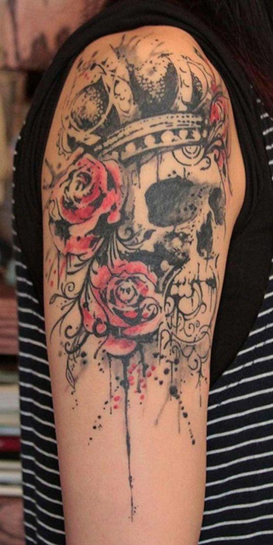 diseño de tatuajes corona