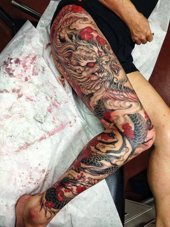 dragon chino mujeres - + 40 diseños de tatuajes de dragones con sus diferentes significados