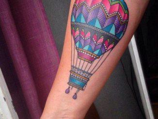 globo lleno de color