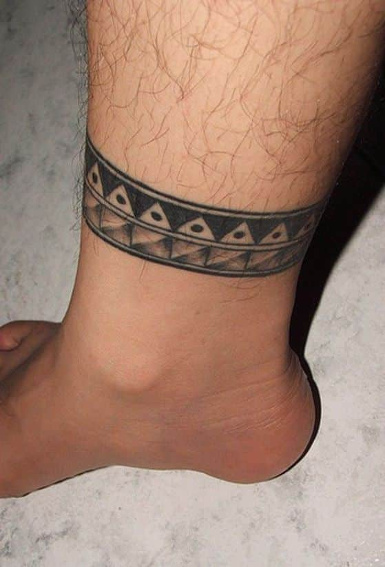 50 tatuajes en el tobillo y tobilleras para hombres y mujeres for Ankle tattoos on men