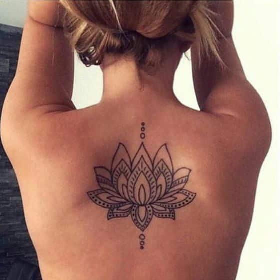loto en la espalda