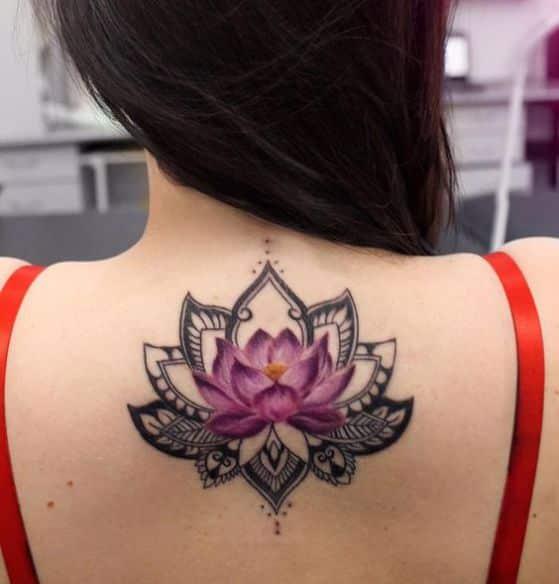 loto espalda a color