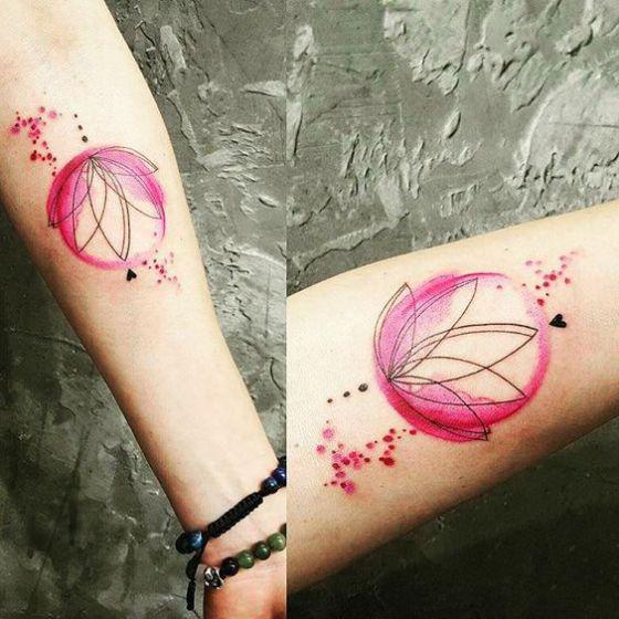 loto sencillo en el brazo