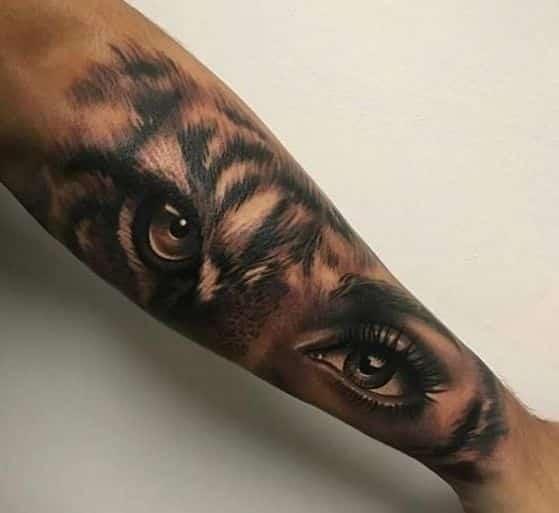 ojos de tigresa