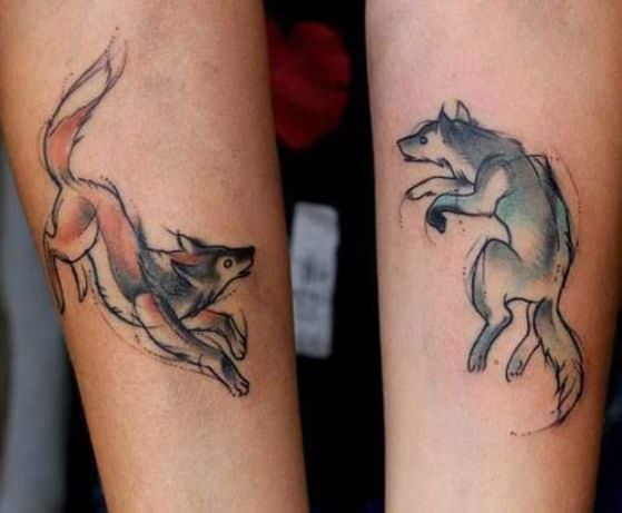 parejas tatuaje antebrazo