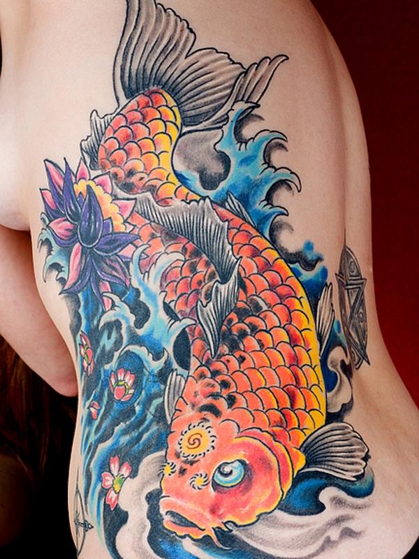 pez koi diseño - + 40 diseños de tatuajes de dragones con sus diferentes significados