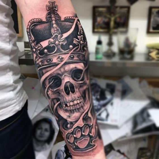 tatuaje en el antebrazo