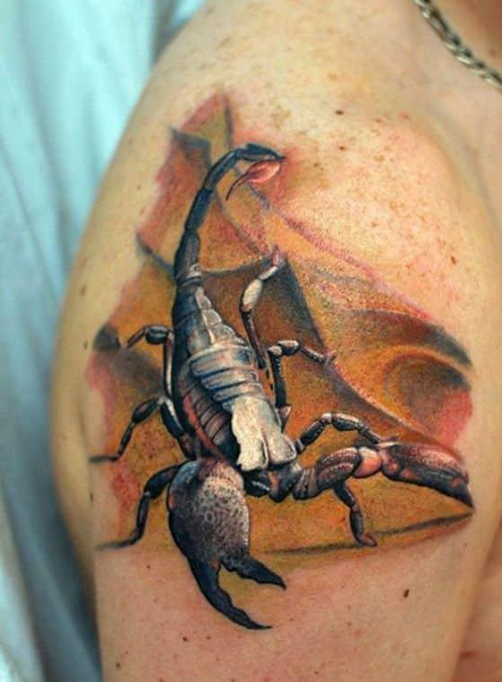 tatuaje realista para hombres