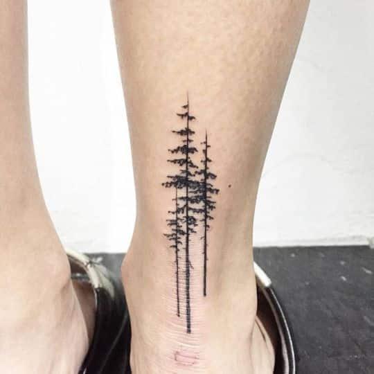 Tatuaje en el pie para hombres