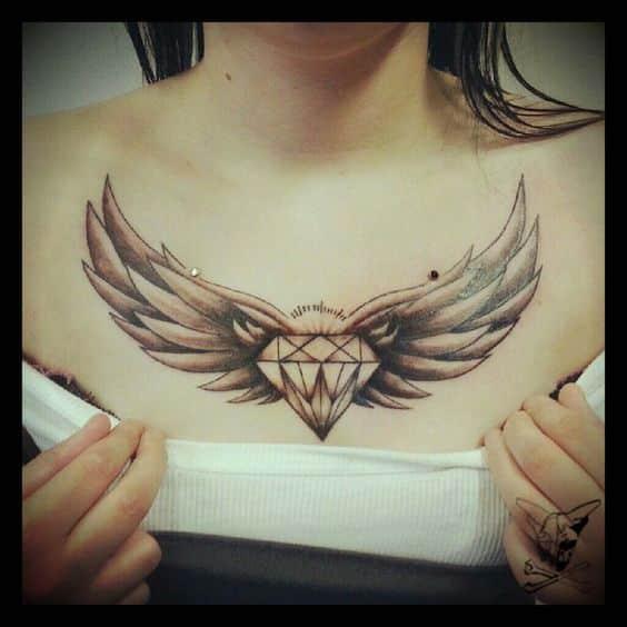 alas yu diamante tatuaje