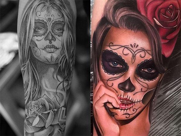 catrina tattoo2