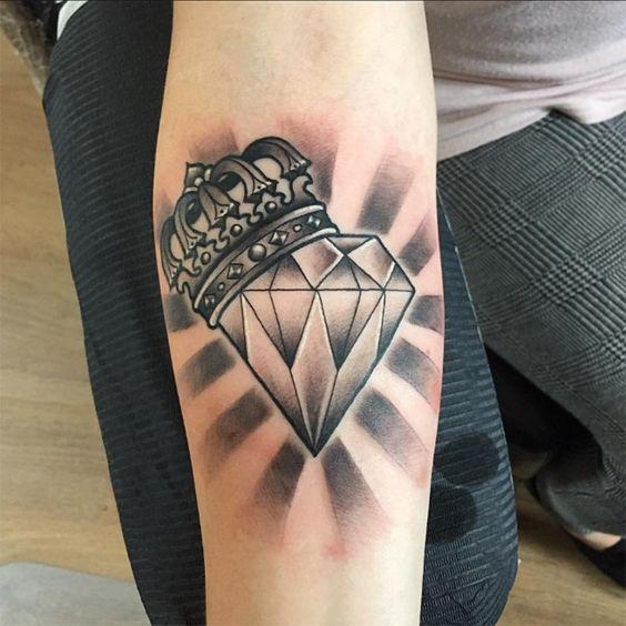 diamante y corona