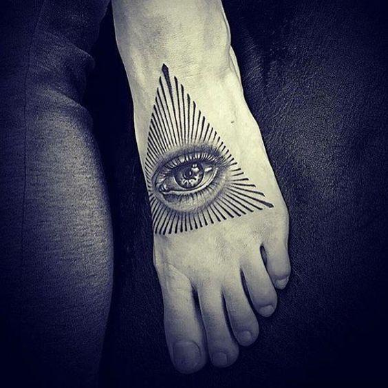 el ojo de la verdad tatuaje