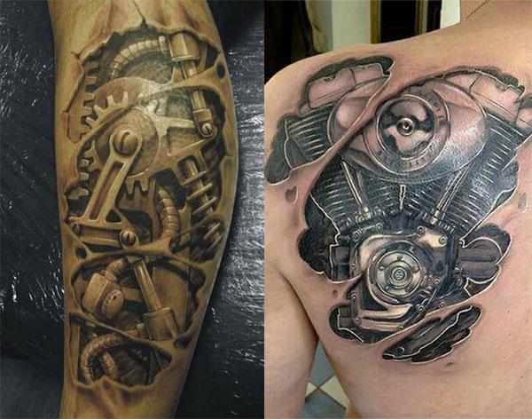 Significado tatuajes biomecánicos