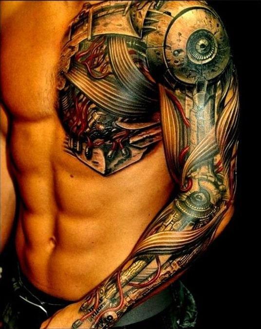 hombro tatuaje