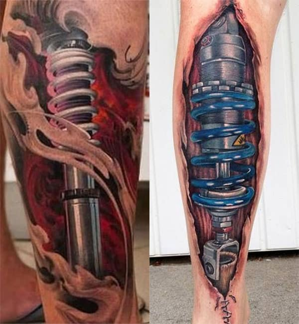 pierna mecanica tatuaje2