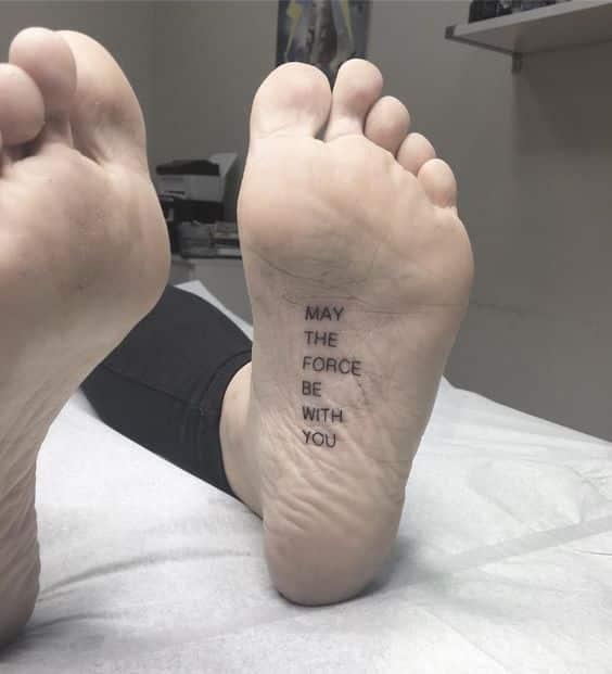 50 Tatuajes En El Pie Con Diseños Para Hombres Mujeres Y Parejas
