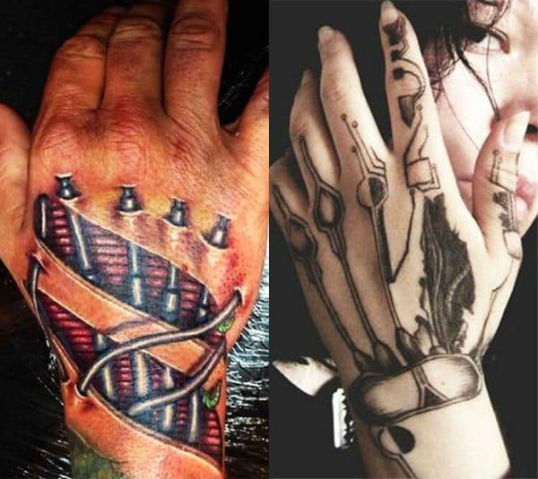 tatuaje negro en mano2