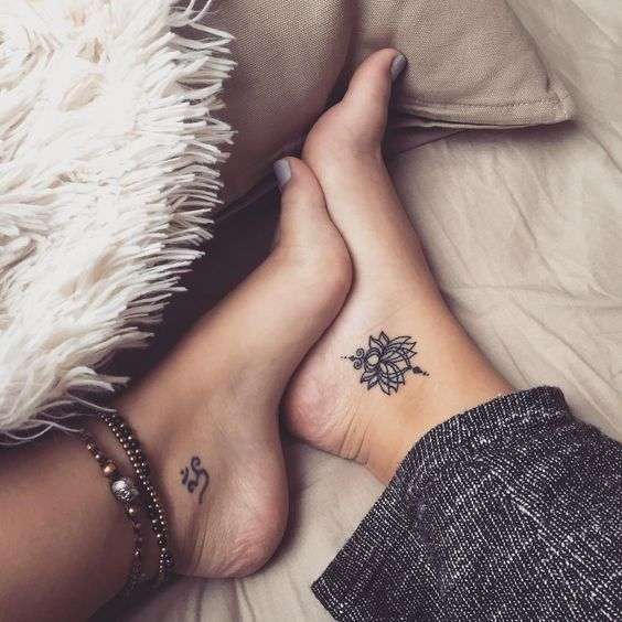 tatuajes en el tobillo para mujeres