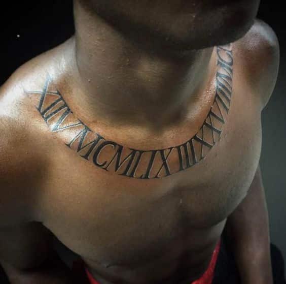 alrededor del cuello tatuaje