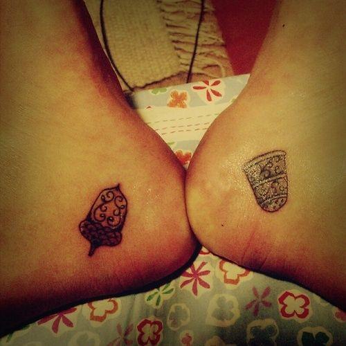 Castañas Pequeño Tattoo