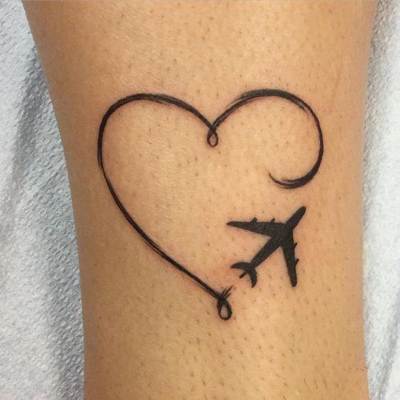 40 Tatuajes De Aviones Con Diferentes Diseños Y Su Principal Significado