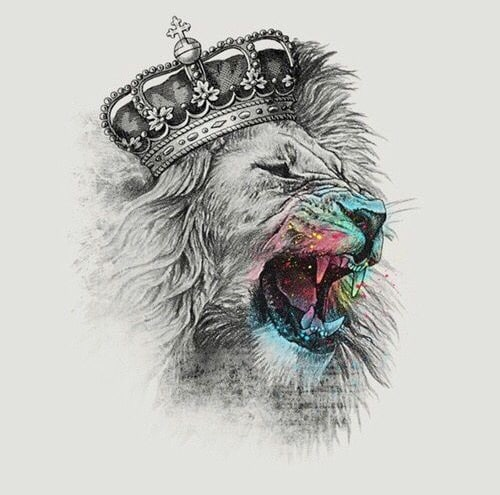 diseños leon tatuaje