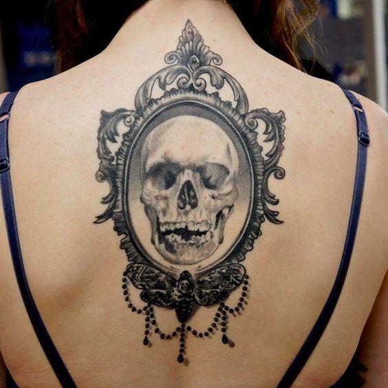 espalda tatoo gotico