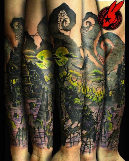 gotico tatoo a color