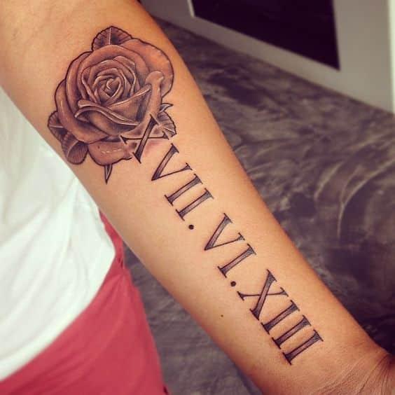Tatuajes De Numeros Romanos Disenos Significados Consejos