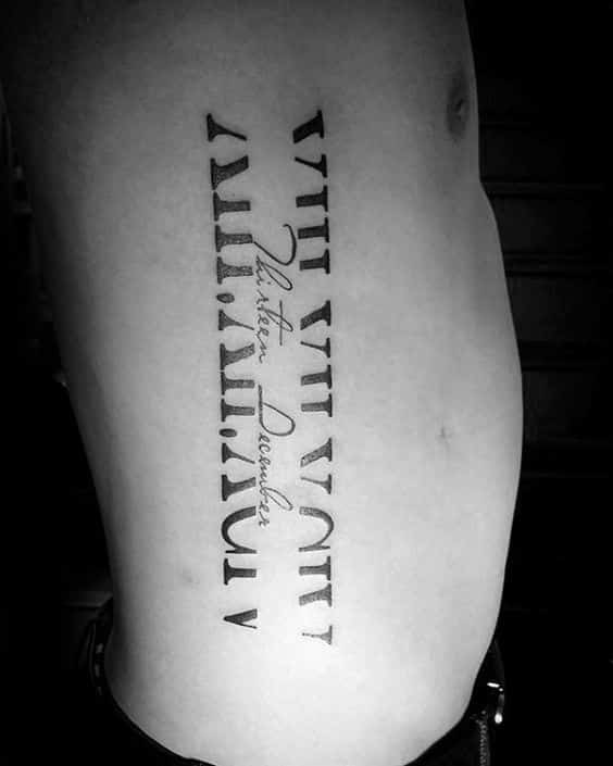 tatuajes romanos para hombres