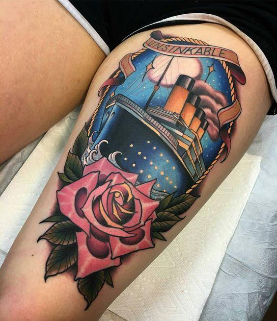 titanic tatuadop mujeres