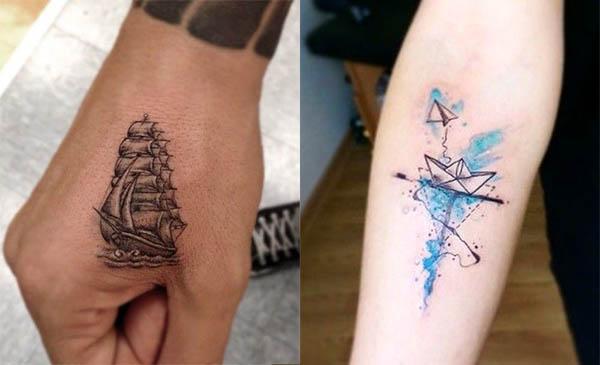 40 Tatuajes De Barcos Con Diferentes Disenos Y Sus Significados