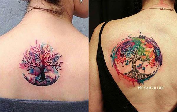tatuajes para mujeres arbol de la vida