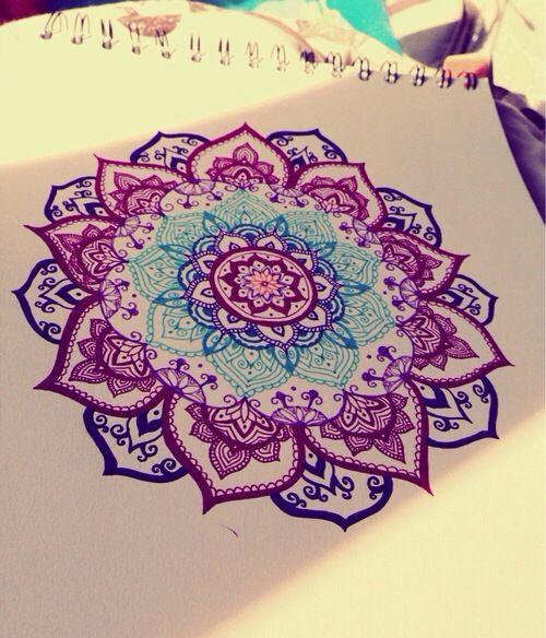 diseño de mandala para tatuar