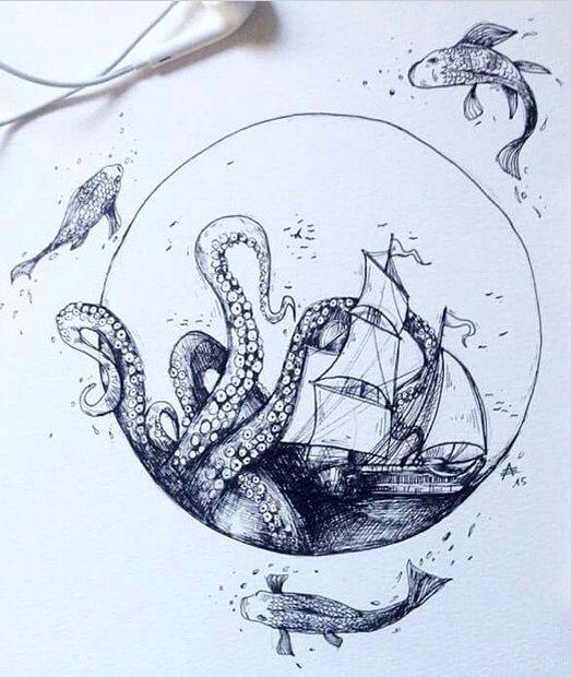 40 Tatuajes De Barcos Con Diferentes Diseños Y Sus Significados