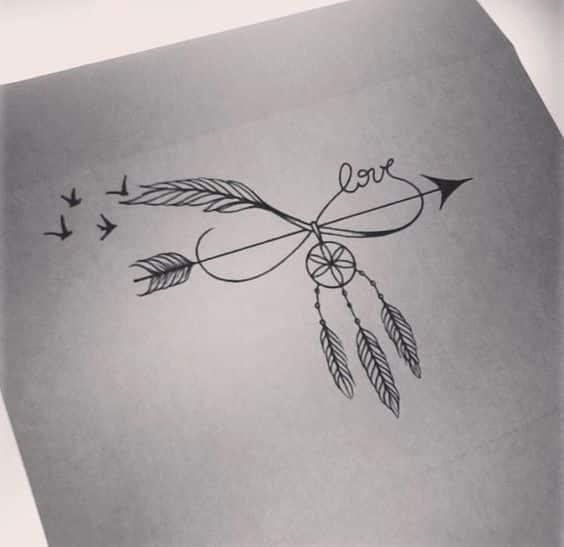 Spur Art Design Your Line : Tatuajes de infinito con diferentes diseños y