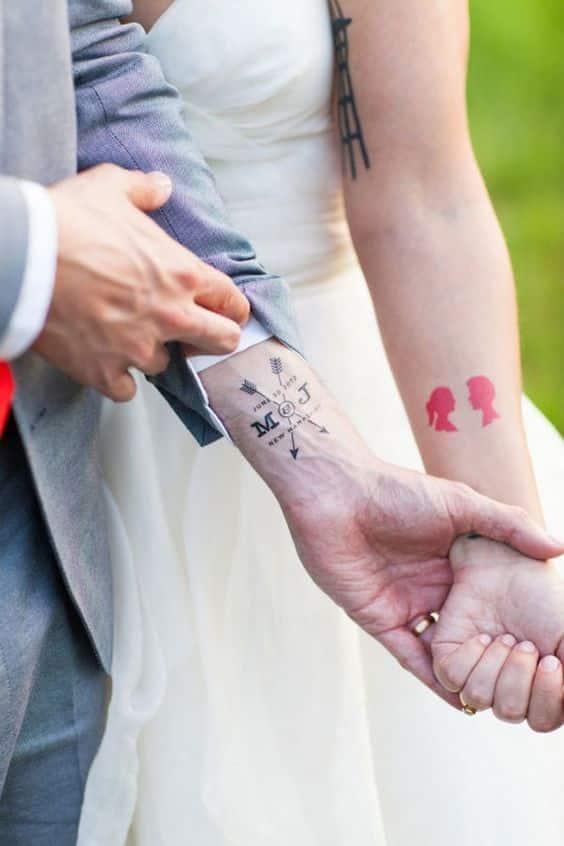 Tatuajes De Flechas Diferentes Diseños Y Sus Significados