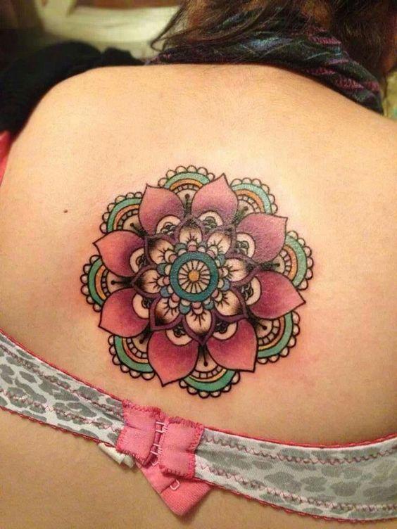 tatoo mandalas para mujeres