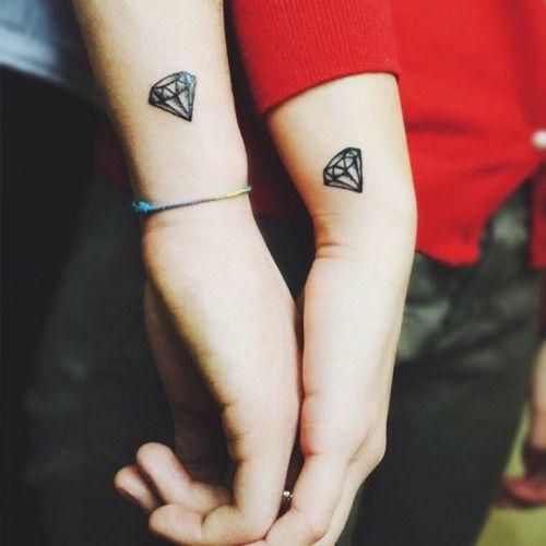 Tatuaje Pequeño Parejas