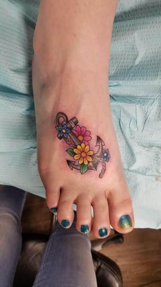 Tatuajes De Anclas Sus Disenos Mas Populares Con Los Significados