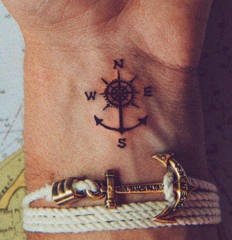 Tatuajes de anclas sus dise os m s populares con los significados - Tatuajes de pared ...
