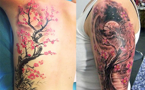 +40 Tatuajes de árboles principales diseños y sus significados