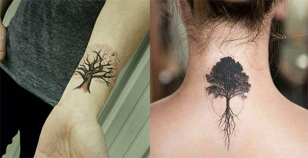 tatuajes de arboles