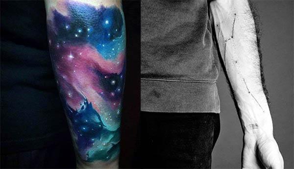 tatuajes de constelaciones en hombres