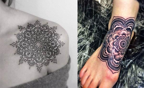 tatuajes de mandala para mujeres
