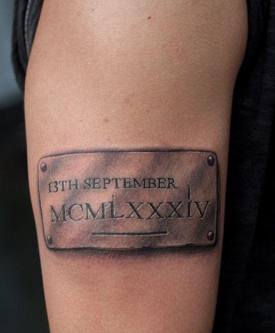 Tatuajes De Números Romanos Diseños Significados Consejos