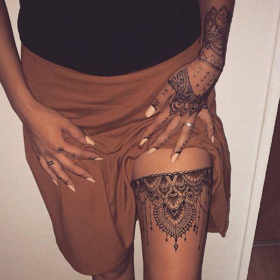 tatuajes para mujeres en mandalas