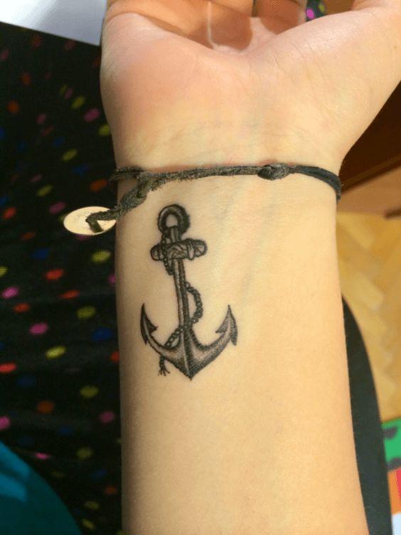 Tatuajes De Anclas Sus Dise 241 Os M 225 S Populares Con Los